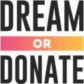 dream or donate logo